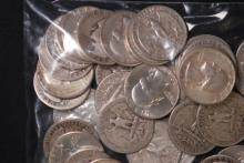 $10 Face Silver Quarter Lot