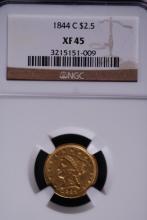 1884-C $2-1/2 Gold Quarter Eagle - NGC XF45
