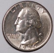 1950 Washington Silver Quarter - BU