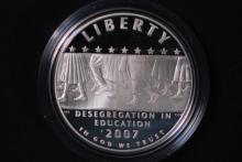 2007-P Little Rock Silver Dollar- Gem Proof