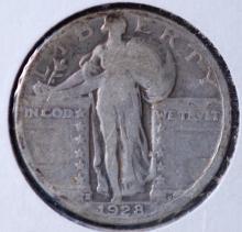 1928-S Standing Liberty Quarter -G