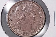 1892 Barber Quarter - UNC