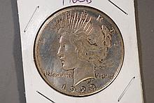 1923-D Peace Silver Dollar - XF Details
