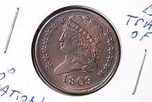 1809 Classic Half Cent - CH BU