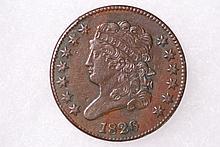 1826 Classic Half-Cent - XF
