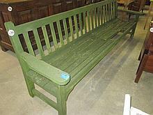 Large Wooden Vintage Garden Bench
