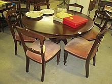 7 Piece Mahogany Dining Suite