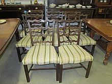 8 Early 19thC Mahogany Dining Chairs