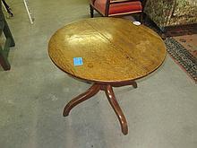 Georgian Oak Tripod Table