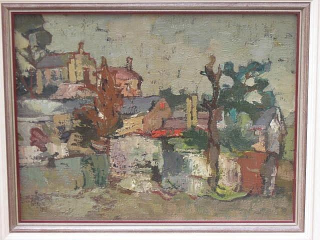 Gregoire Boonzaier Oil Painting (1909-2005)