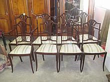 Edwardian Mahogany Salon Suite