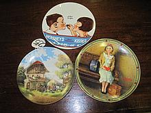 3 Assorted Wall Plates