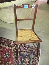 Edwardian Oak Chair