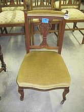 Late Victorian Low Chair