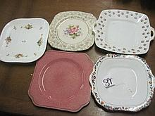 Collection of Cake Plates