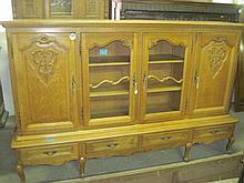Oak Glassfront Cabinet