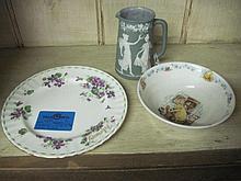 3 Porcelain Items