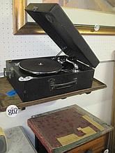 His Master's Voice Portable Gramaphone