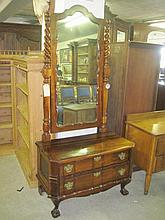 Stinkwood Cheval Mirror