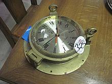Brass Ships Clock