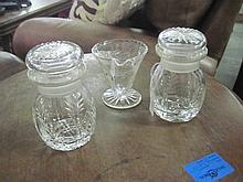 3 Royal Brierley Crystal Items