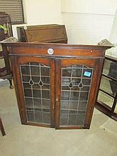 1930's Oak Bureau Bookcase Top Only