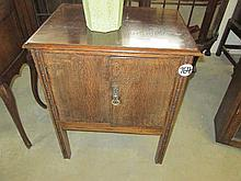 Oak Commode Cupboard