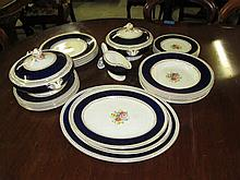 30 Piece Crown Ducal Dinner Set