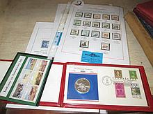 Collection of Stamps and First Day Cover