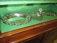 3 Silver Plated Items