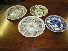 4 Wedgewood Wall Plates