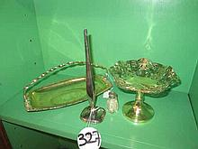 Collection of Silver Plated Items