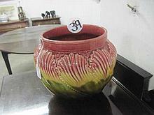 Majolica Style Planter