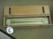 Vintage Stanley Brass Rolling Ruler