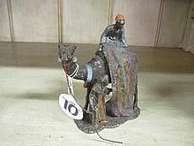 Bergman Spelter Figurine