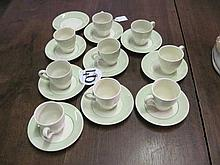 19 Piece Part Johnson Bros Coffee Set