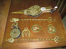 Collection of Brass Ware