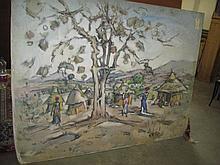 Geoffrey Charlesworth Oil Painting (1930-2009)