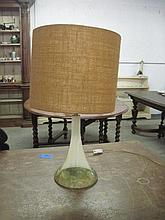 Art Deco Marble Lamp