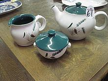 3 Piece Denby Tea Set