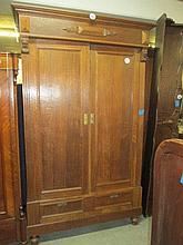 Dutch Oak Wardrobe