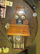 Vintage LM Ericsson Wall Mounted Phone