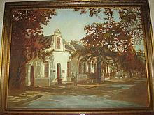 SA School Oil Painting