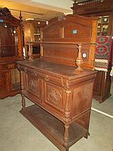 19thC Dutch Oak Chiffonier