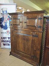 Dutch Oak Court Cupboard