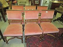 6 19thC Dining Chairs