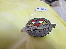 Enamel Osterreichische Ski School Badge