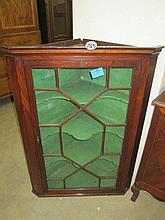 Georgian Glazed Corner Cupboard