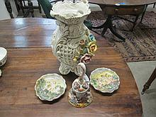 Collection of 4 Capodimonte Items