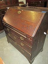 Georgian Oak Writing Bureau